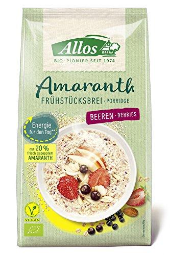 Allos Bio Amaranth Frühstücksbrei Beeren, 400 g