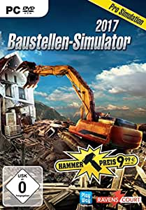 baustellen simulator 2017 pc hammerpreis games. Black Bedroom Furniture Sets. Home Design Ideas