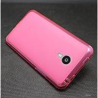 Prevoa ® 丨 Meizu MX4 PRO Funda - Silicona TPU Funda Cover Case para Meizu MX4 PRO 5.5 Pulgadas Smartphone - Rosa