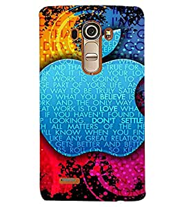 GADGET LOOKS PRINTED BACK COVER FOR LG G4 MULTICOLOR