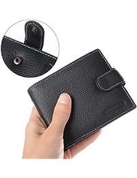 XCSOURCE® Nouveau Homme Portefeuille En Cuir Crédit Carte d'identité Porte-monnaie Pliante Poches Pince à billets MT199