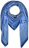 Lorenzo Cana High End quadratisches XL Luxus Tuch Baumwolle kombiniert mit Seide 110 x 110 cm Naturfaser Marken Schaltuch Halstuch Hahnentritt Paisley