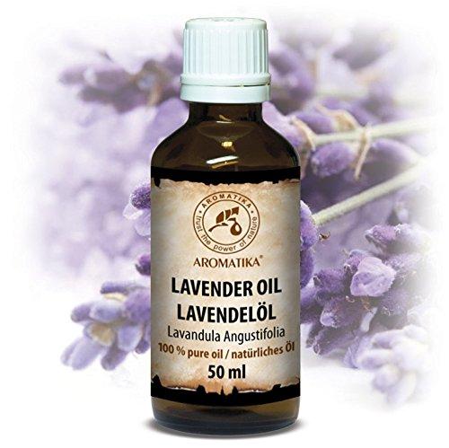 Lavendelöl naturrein 100 %, 50ml, Bulgarien - ätherisches Lavendel Öl für guten Schlaf - Beauty...