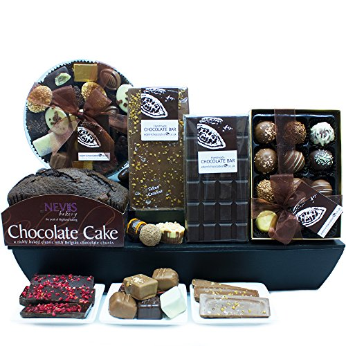 DECADENT CHOCOLATE HAMPER - Exclusive Eden4chocolates Chocolate Hampers & Luxury Chocolates for Occasions & Celebrations Year Round - Perfect for Birthday Easter Christmas Mothers Day and Fathers Day