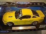 Welly 12569/Yellow - Sammlermodell Saleen S281 Extreme Mustang 1/18 aus Metall, gelb