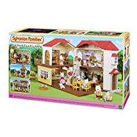 Sylvanian Families 5302 Red Roof Country Home, Multicolored
