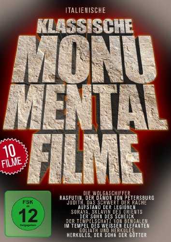 Klassische Monumentalfilme [5 DVDs]