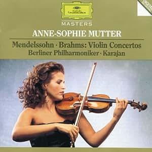 Brahms - Mendelssohn : Concertos pour violon
