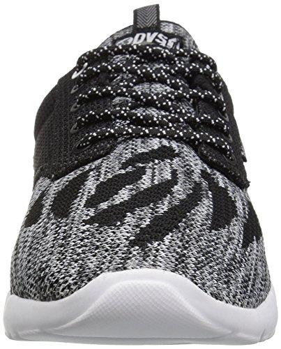 DVS Shoes Premier +, Baskets Homme Schwarz (Black White Knit)