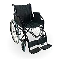 Foldable Lightweight and Self-Propelled Wheelchair | Model Catedral | Mobiclinic | Height: 89 cm | Ergonomic Seat and Backrest | Made of Steel | Maximum Weight Supported: 100 kg