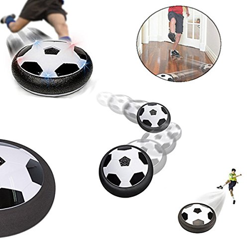 Pepperonz Awesome Air Power Soccer Disk Boys Hover Glide Football Disc Indoor or Outdoor Toy