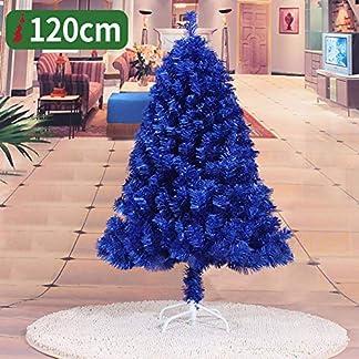 WZR Azul Real Árbol De Navidad Artificial Tinsel, 150cm Artificial Árbol De Navidad Fácil De Ensamblar con Sólido Soporte En Metal Interior Exterior