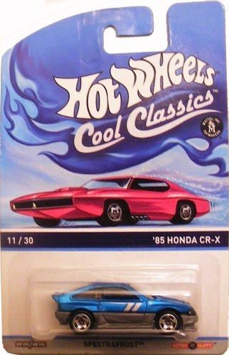Hot Wheels Cool Classics Light Blue '85 Honda Cr-X 11/30 by Hot Wheels