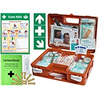Erste-Hilfe-Koffer KITA PLUS -Komplettpaket- DIN/EN 13157 für Betriebe + DIN/EN 13164 für KFZ - incl. 1.Hilfe-Aufkleber... preisvergleich bei billige-tabletten.eu