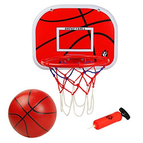 Symiu Canasta Baloncesto Tablero Baloncesto Juego Al Aire Libre y Interior Oficina...