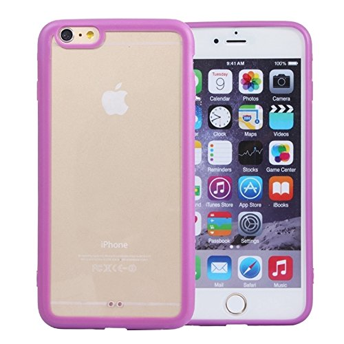 BING Für iPhone 6 / 6s Acryl Material Transparente Rückseite Shell Schutzhülle BING ( Color : Red ) Purple