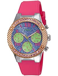 Guess Analog Purple Dial Women's Watch - W0773L3