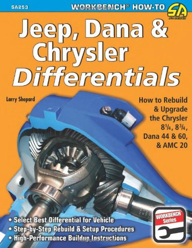 Jeep, Dana & Chrysler Differentials: How to Rebuild the 8-1/4, 8-3/4, Dana 44 & 60 & AMC 20 (Workbench How-to) 8 1/4