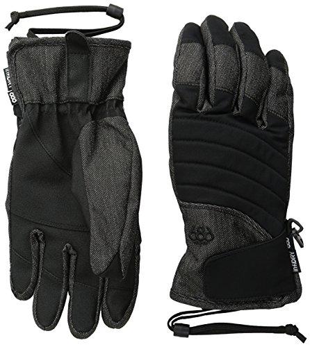 686WM Majesty Handschuh M schwarz Denim -