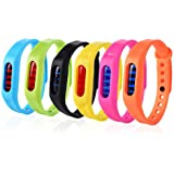 Mosquito Repellent Bracelet, 2 Pack Silicone Mosquito Repellent Wristbands for 360 Hours Indoor&Outdoor Protection, Non-Toxic