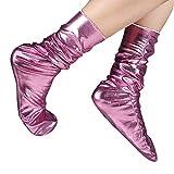 XuxMim Frauen-Mann-Socken-beiläufiges Arbeits-Geschäft reflektierende feste Art- und Weisesocke bequem