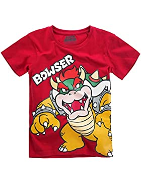 Super Mario Bowser T-Shirt rot
