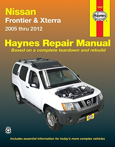 Haynes Nissan Frontier & Xterra 2005-2012 Repair Manual (Haynes Repair Manual) by Haynes (2014-04-01) - Frontier 2009 Nissan