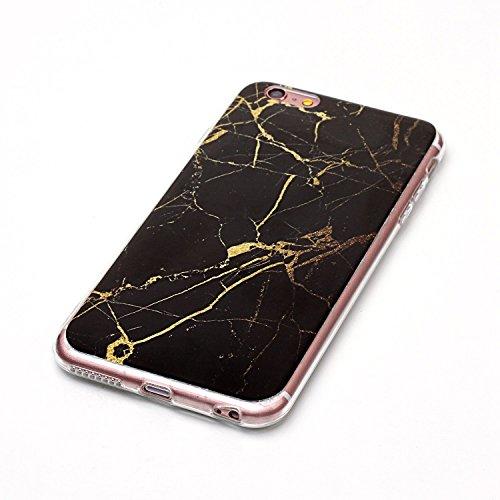 GR TPU Cover für Apple IPhone 6 6s Plus Case Marbling Texture Soft TPU Cover Slim Ultra Thin Anti-Kratzer Schock Absorption Schutzmaßnahmen zurück Deckung Shell ( Color : J ) D
