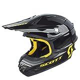 Scott 350 Pro MX Enduro Motorrad / Bike Helm schwarz/gelb 2016: Größe: XL (61-62cm)