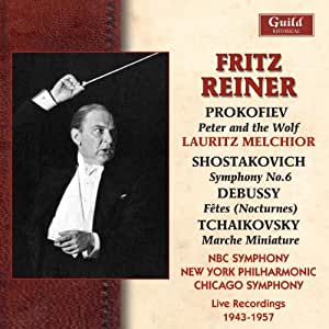 Live Recordings 1943-1957 (Reiner, NBC Symphony)