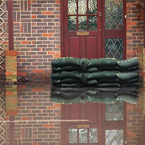 pegtopone - Barrera de inundación, Bolsa de protección contra inundaciones, Bolsa de expansión Absorbente de Agua Impermeable, Bolsa de Repuesto para la protección contra inundaciones al Aire Libre