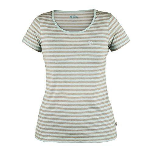 Fjällräven Damen High Coast Stripe W T-Shirt petrol