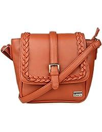 47252743e828c Goldmine Designer Sling Bag For Girls and Women s (Brown) Party Wear