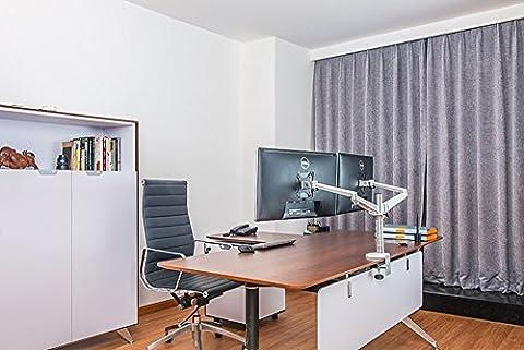 Zolion Aluminium réglable Monitor Desk Stand support du moniteur Clamp