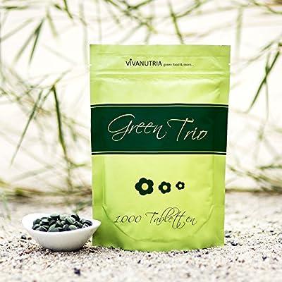 GreenTrio, 1000 Presslinge, 500g, Rohkostqualität! von IQ-Trade bei Du und dein Garten