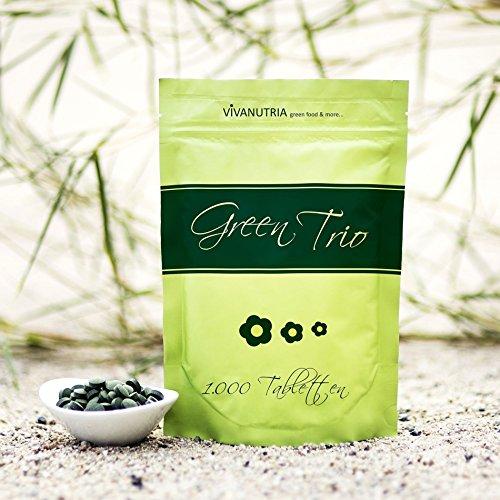 GreenTrio, 1000 Presslinge, 500g, Rohkostqualität!