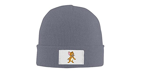 aad7384050b Crochet Tom And Jerry Funny Fashion Pattern Logo Beanie Hats  Amazon.co.uk   Clothing