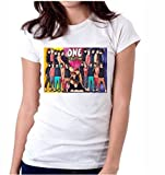 LetsFlaunt Colorful 1d White Dry-Fit-Medium Nw
