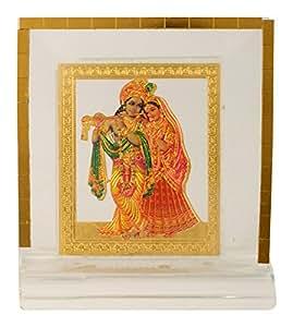 Autosure A00092 Universal Religious Statue of Radha Krishna