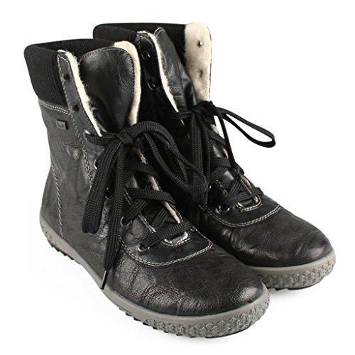 Rieker Woman Boot Massa Black Black
