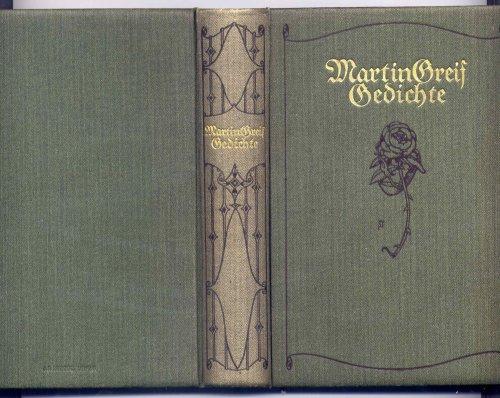 Gedichte von Martin Greif