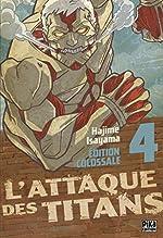 L'Attaque des Titans Edition Colossale T04 de Hajime Isayama