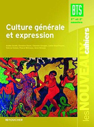 Culture générale et expression BTS par Arielle Covelli