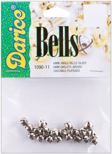 Jingle Bells .25 20/Pkg-Silver by Darice