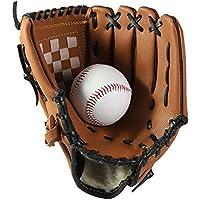 Voker Baseball Handschuhe Sport /& Outdoor Baseball Glove Batting Handschuhe mit Einem Ball Softball Handschuhe f/ür Kinder Erwachsene