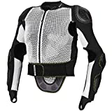 Dainese Herren Safety Action Full Pro Protektor, Weiss/Schwarz, M