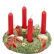 V & B de jouets de Noël 1486029412mémoire Mini couronne de l'Avent Bougie