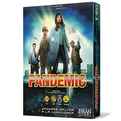 Asmodee- Pandemic, (Z-Man Games ZM7101ES)