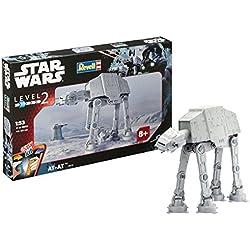 Revell- Maqueta Star Wars AT, Easy Kit Modelo, Escala 1:53 (6715)(06715), 37,5 cm de Largo (