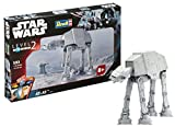 Revell 06715-Star Wars easykit Control 1/56 Easy Kit At, Colore Grigio, RV06715